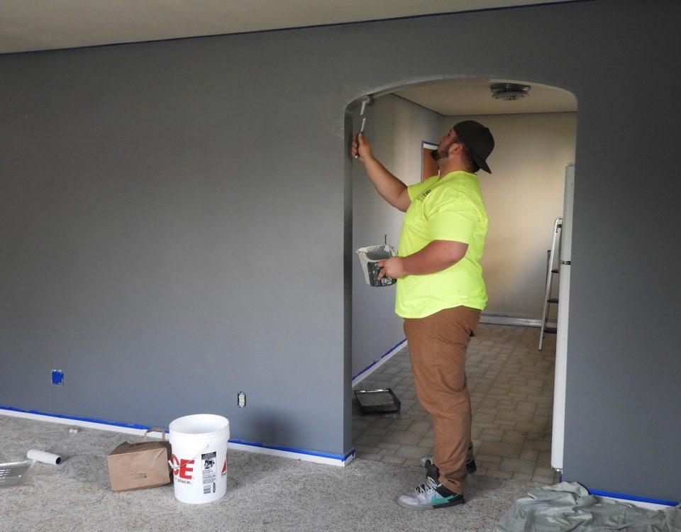 pintura ou papel de parede